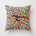 Wordsearch Love: Happy Birthday To You Throw Pillow