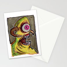 One Eyed Monster Stationery Cards