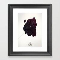 CORE Black 4 Framed Art Print