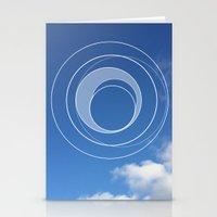 Sky Bubble Stationery Cards