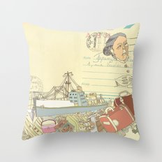 Great-grandmother's secret Throw Pillow