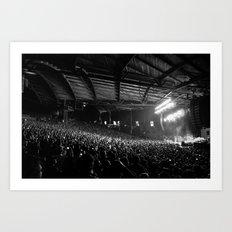 Pearl Jam 20 - Alpine Valley Pavilion Art Print