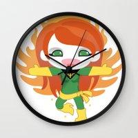 X-man Jean Grey 'Phoenix' Robotic Wall Clock