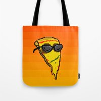 Pizza Dude Tote Bag