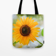 Shinny  Sunflower Tote Bag