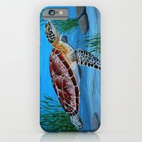 iPhone & iPod Case featuring Sea turtle  by maggs326
