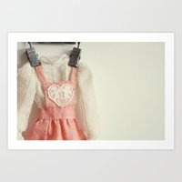 Doll Closet Series - Hea… Art Print