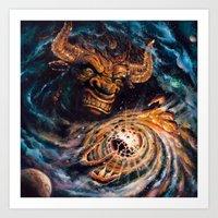 Milking The Stars - Monster Magnet full album cover Art Print