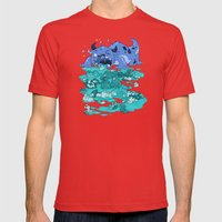 Cuteness Overload Mens Fitted Tee Red SMALL