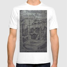 Colic In The 19th White SMALL Mens Fitted Tee
