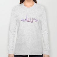 Watercolor Landscape Ill… Long Sleeve T-shirt