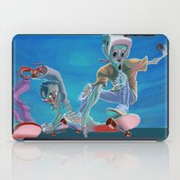 Zombies and Skateboards iPad Case