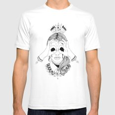 Void in your eyes SMALL Mens Fitted Tee White