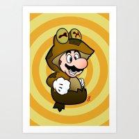 All Glory To The Mario B… Art Print