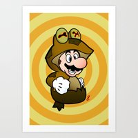 All Glory To The Mario B… Art Print