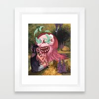 Jelly Monger Framed Art Print