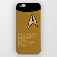 Space: The Final Frontier... iPhone & iPod Skin
