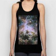 Cosmic Tarantula Nebula … Unisex Tank Top