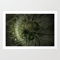 Fractal Moss Art Print