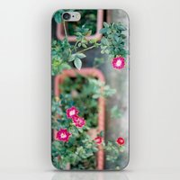 Roadside Flowers iPhone & iPod Skin