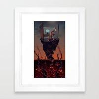 Pillar of Success Framed Art Print