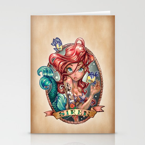 SIREN Stationery Card