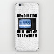 Revolution Will Not Be T… iPhone & iPod Skin