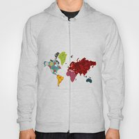 Simi's Map of the World Hoody