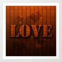 LOVE!  Art Print