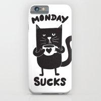 MONDAY SUX iPhone 6 Slim Case