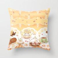 Dutch Sweet Tea Throw Pillow