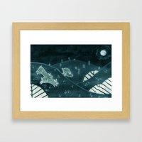 Midnight Run Framed Art Print