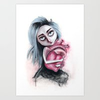 Going to be gone Art Print