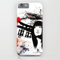 Japanese Geisha Warrior iPhone 6 Slim Case