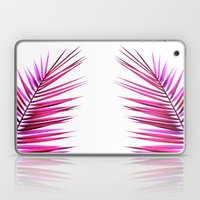 pink palm leaf II Laptop & iPad Skin