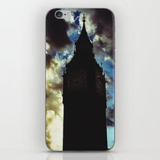 Big Ben up in the clouds iPhone & iPod Skin