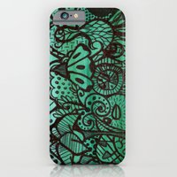 iPhone & iPod Case featuring enchanted wood by Blanca MonQnill Sole