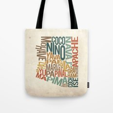 Arizona by County Tote Bag