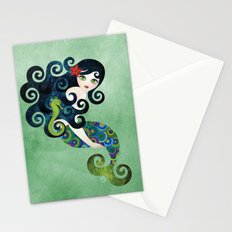 Aquamarine Mermaid Stationery Cards