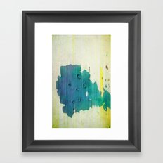 color spots Framed Art Print