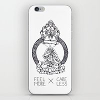 FeelMore x CareLess iPhone & iPod Skin