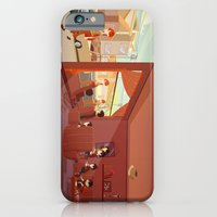 iPhone & iPod Case featuring Drawing her by animatorlu