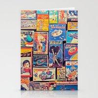 Toy Warp Stationery Cards