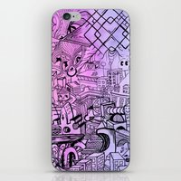 Funky Town Pt. 2 iPhone & iPod Skin