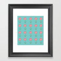 Color Me Pink With Sprin… Framed Art Print