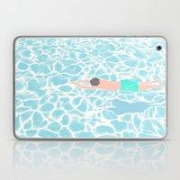 SWIMMING ALONE Laptop & iPad Skin