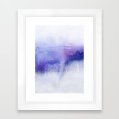Subtle Horizon Framed Art Print