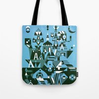 Structura 3 Tote Bag