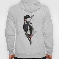 Great Spotted Woodpecker Hoody