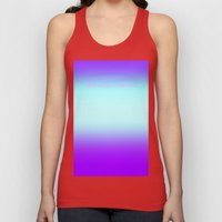 Re-Created  Color Field with LOVE 9 by Robert S. Lee Unisex Tank Top